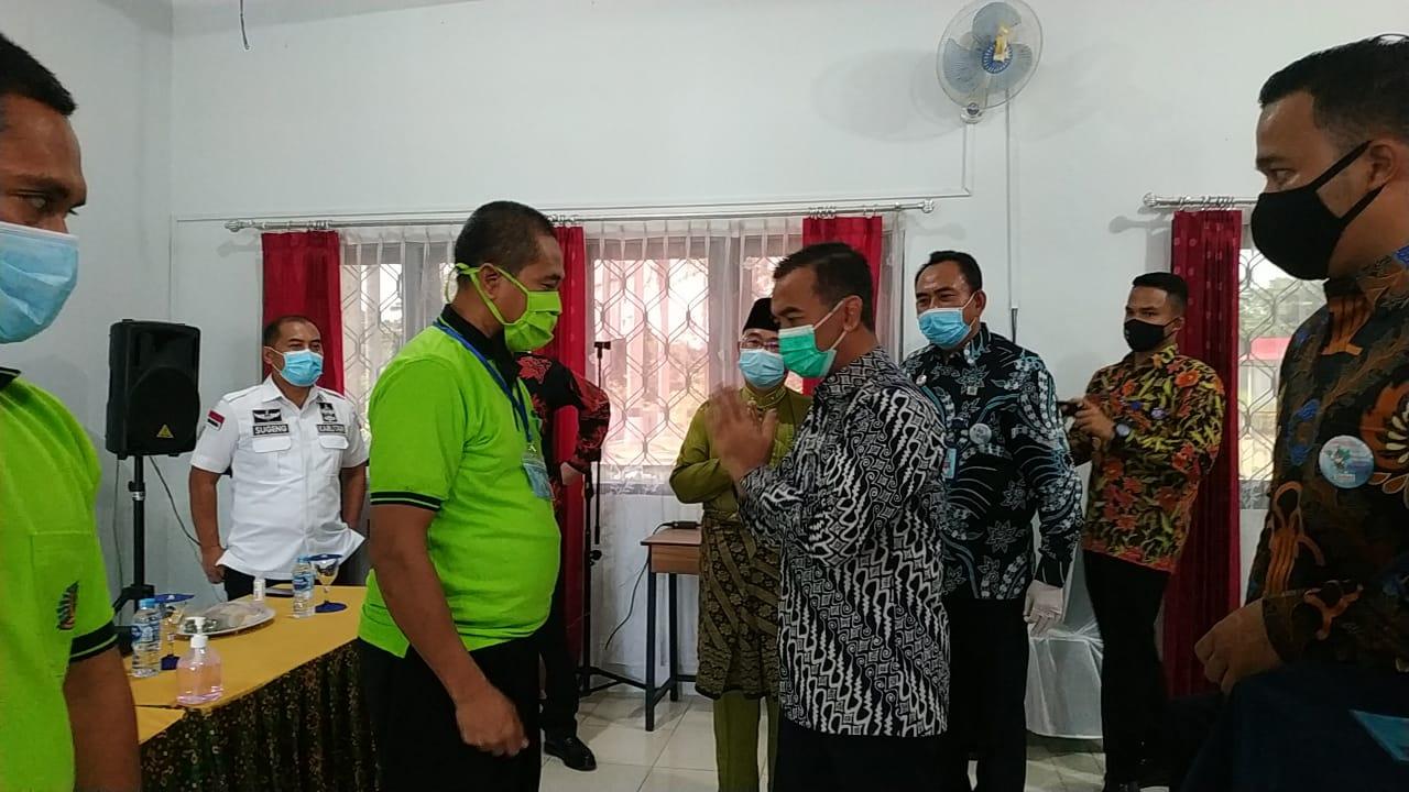 Kakanwil Buka Pelatihan Pertanian Hidroponik Dan Organik Di Lapas Kelas IIA Tanjungpinang