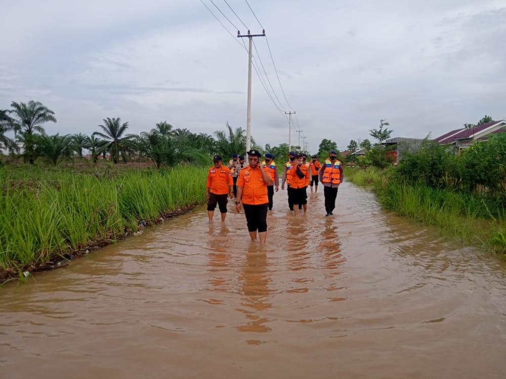 BPBD Kampar Siaga Banjir Desa Karya Indah