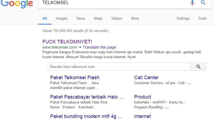 Situs Resmi Telkomsel Diretas Pesan Sang Hacker Sungguh Menohok