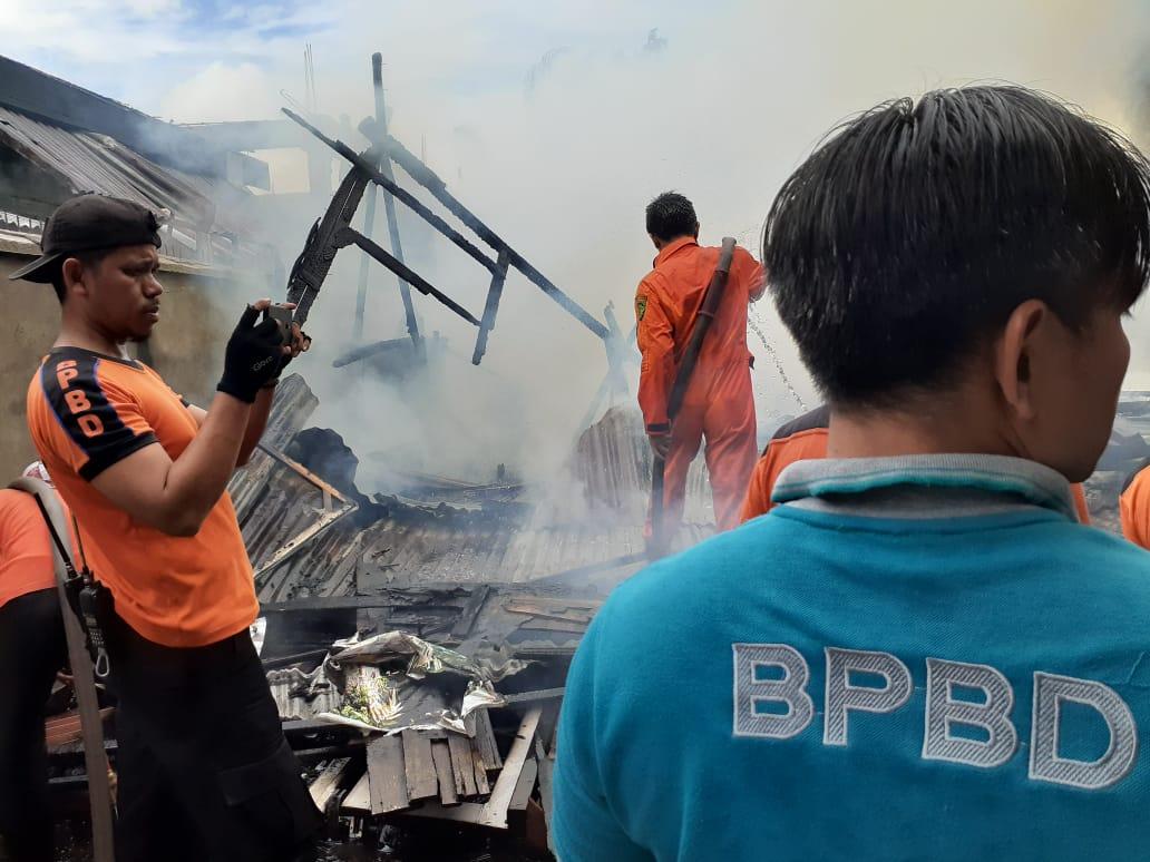 Kebakaran di Tembilahan, Bupati Inhil Ungkapkan Keprihatinannya
