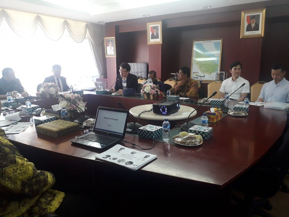 Pemprov Riau Jalin Kerja Sama Dengan Pohang Techno Park