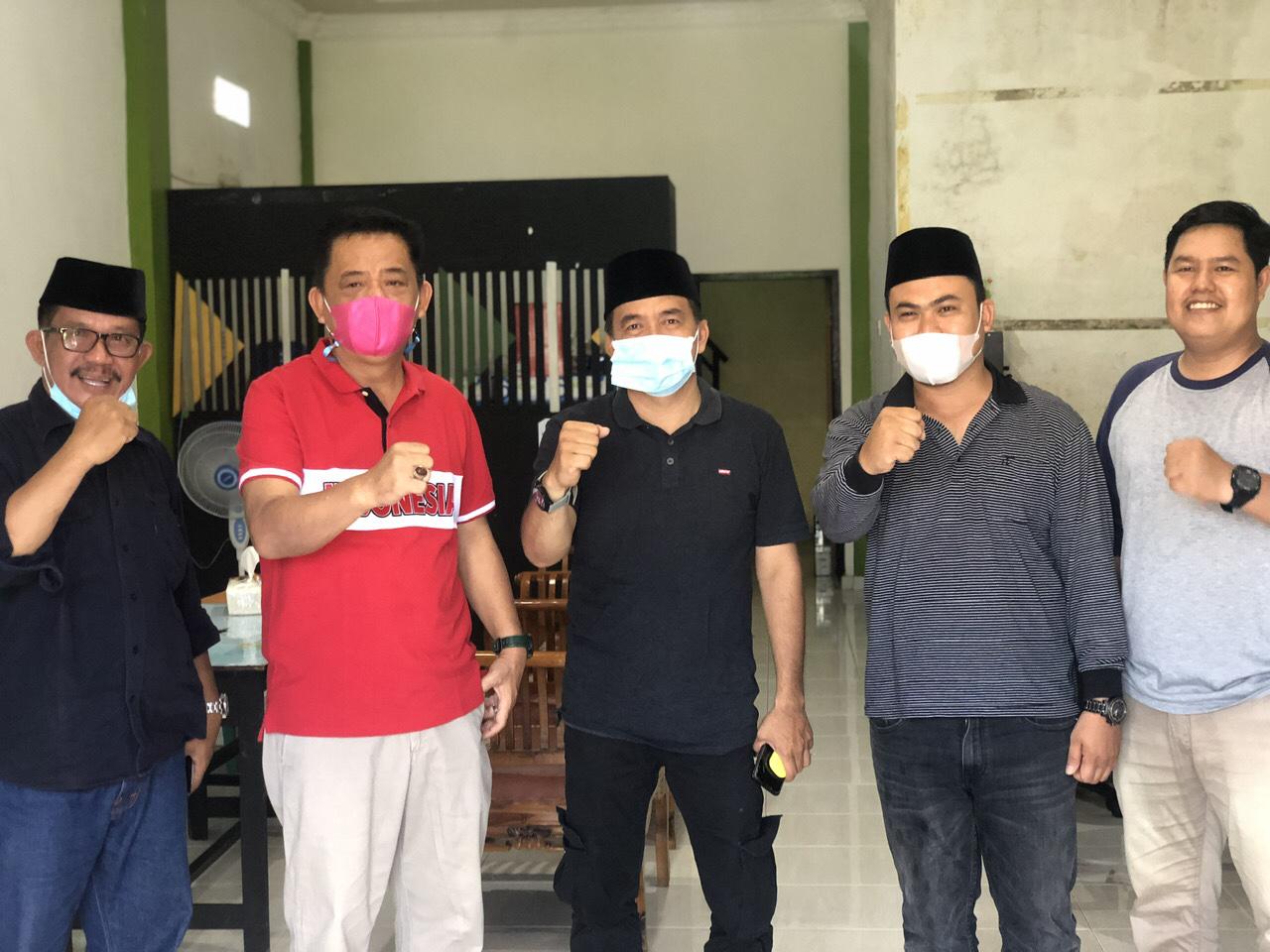 Pimpinan DPRD Inhil Sambangi Kantor PWI Inhil