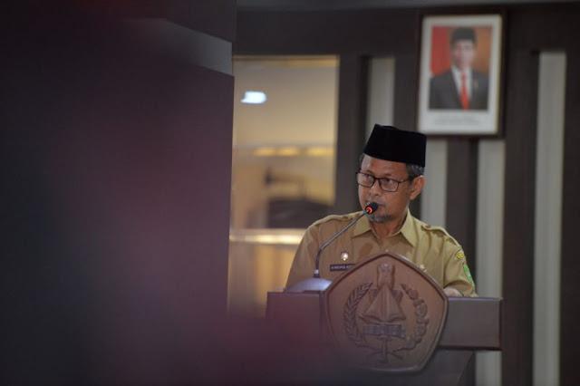Masrul Kasmy: Hari Pertama Masuk Kerja, ASN Pemprov Riau Wajib Patuhi Aturan