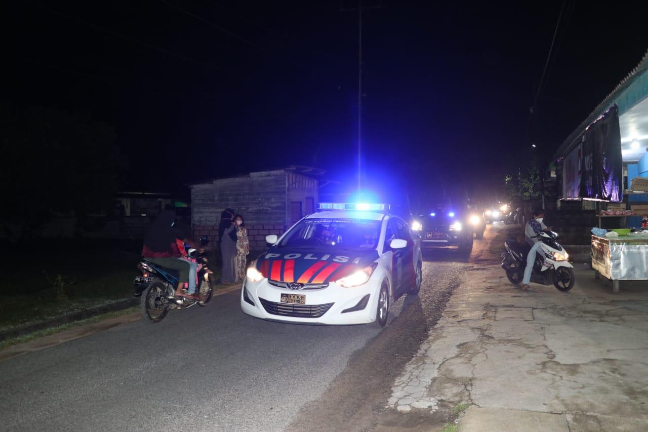 Polres Karimun Gelar Patroli Skala Besar dalam Pengamanan Malam Takbiran