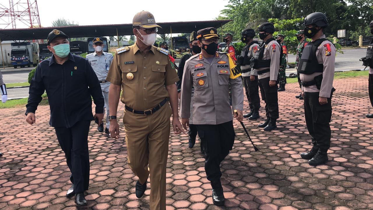 Polres Gelar Operasi Ketupat, Bupati Rohil Bacakan Amanat Kapolri