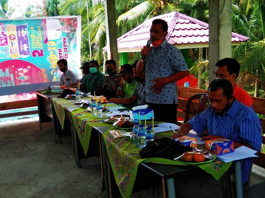 DPMD Inhil Sosialisasikan Susunan Organisasi BPD di Pekan Kamis