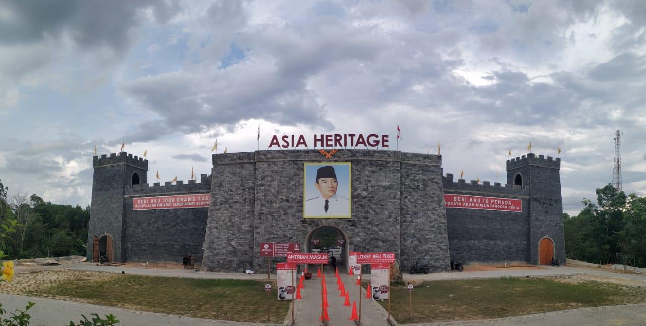Tak Ingin Langgar Prokes, Asia Heritage Tutup Sementara