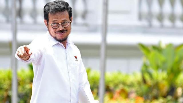 Mentan Syahrul Yasin Limpo: Izin Ketua, Saya Mohon Maaf Dan Mohon Didukung