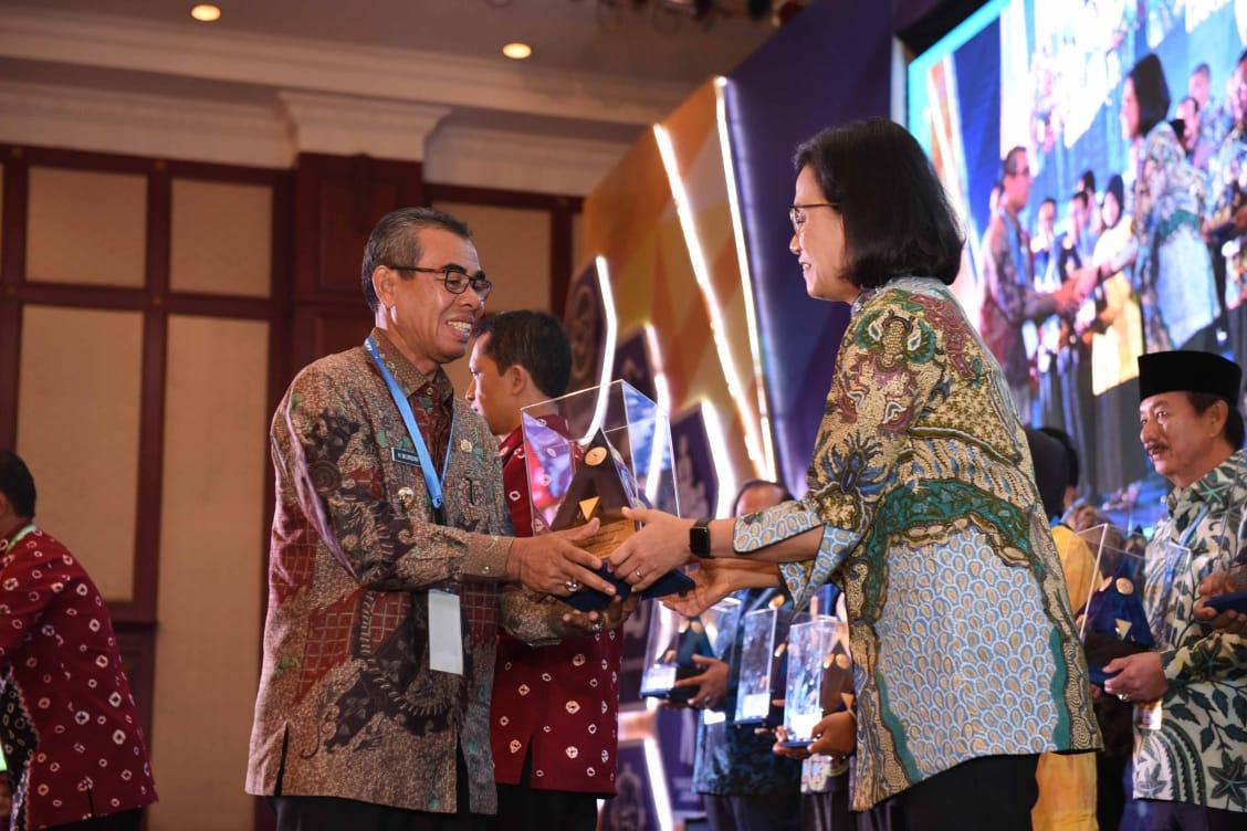 Apel Perdana 2019, Bupati Kuansing Paparkan 10 Prestasi Pemkab Kuansing Selama 2018