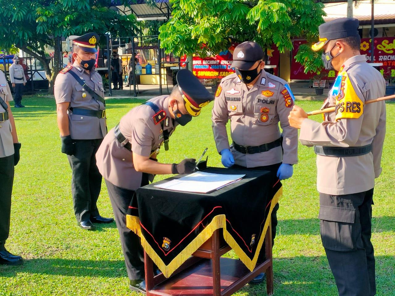 Kompol Rachmad M Salihi Resmi Jabat Waka Polres Kampar