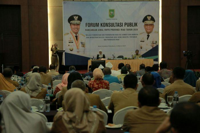 Gubri Minta RKPD OPD Berbasis Kepentingan Masyarakat Luas