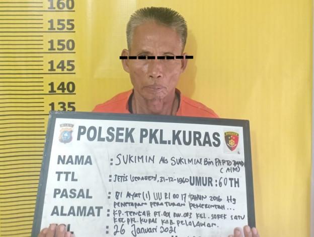 Cabuli 6 Bocah Ingusan, Kakek Penjual Jamu di Pelalawan Diringkus Polisi
