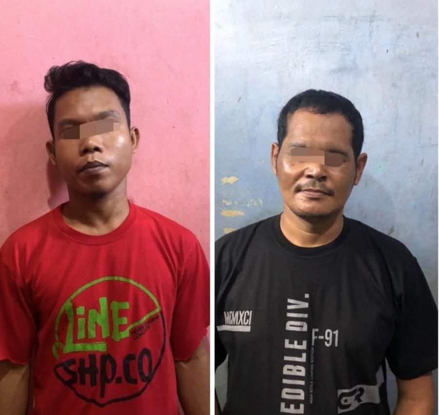 Sering Transaksi di Simpang 4 Belilas Inhu, Dua Pengedar Sabu Ditangkap Polisi