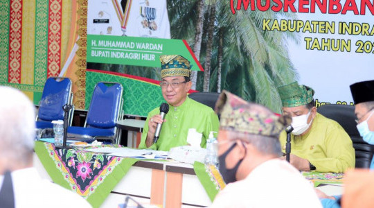 Pemkab Inhil Gelar Rapat Evaluasi Pelaksanaan DAK Tahun 2021 Dan Usulan DAK Tahun 2022