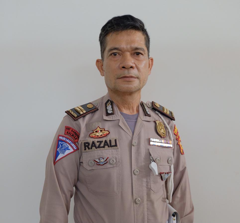 Sosok Polisi Teladan Iptu Razali : Saya Bertekad Wujudkan Tanggungjawab Tugas Bagi Masyarakat