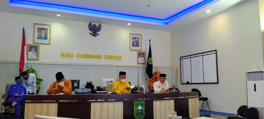 Pj Sekda Riau Hadiri Pertemuan Chief Minister dan Governors