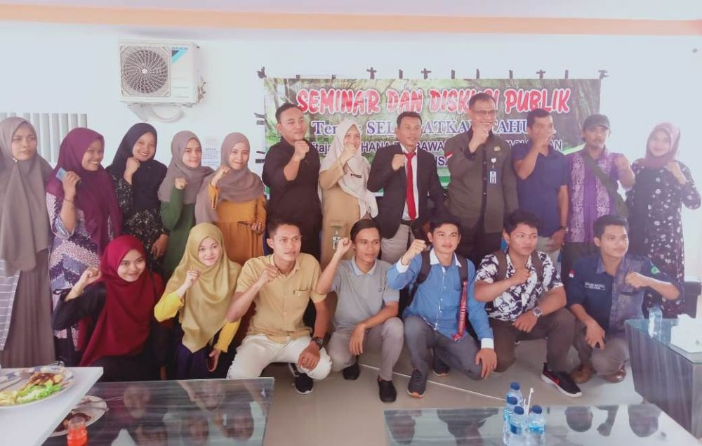 Forum Warisan Unilak Gelar Diskusi Publik Selamatkan Tahura