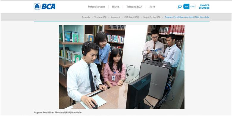 Bank BCA Buka Program Beasiswa Pendidikan Khusus Lulusan SMA dan SMK