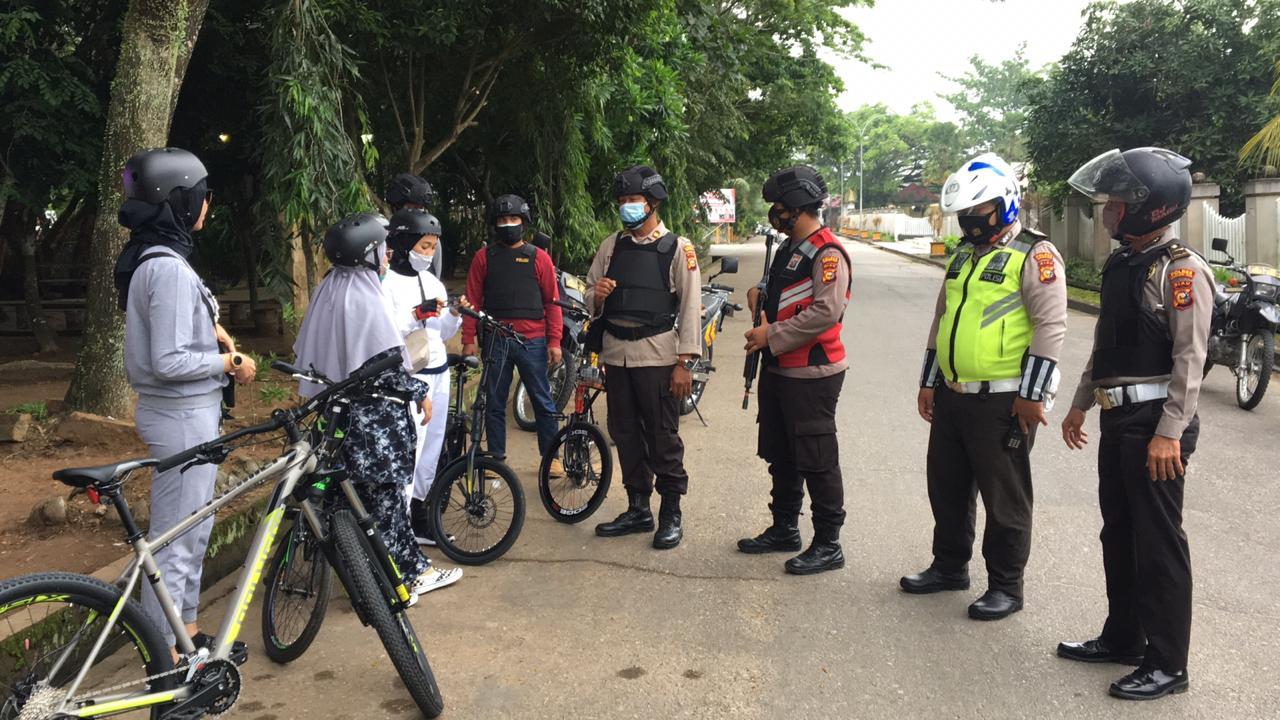 Satgas Anti Begal Sepeda Polres Inhil Kembali Melaksanakan Patroli