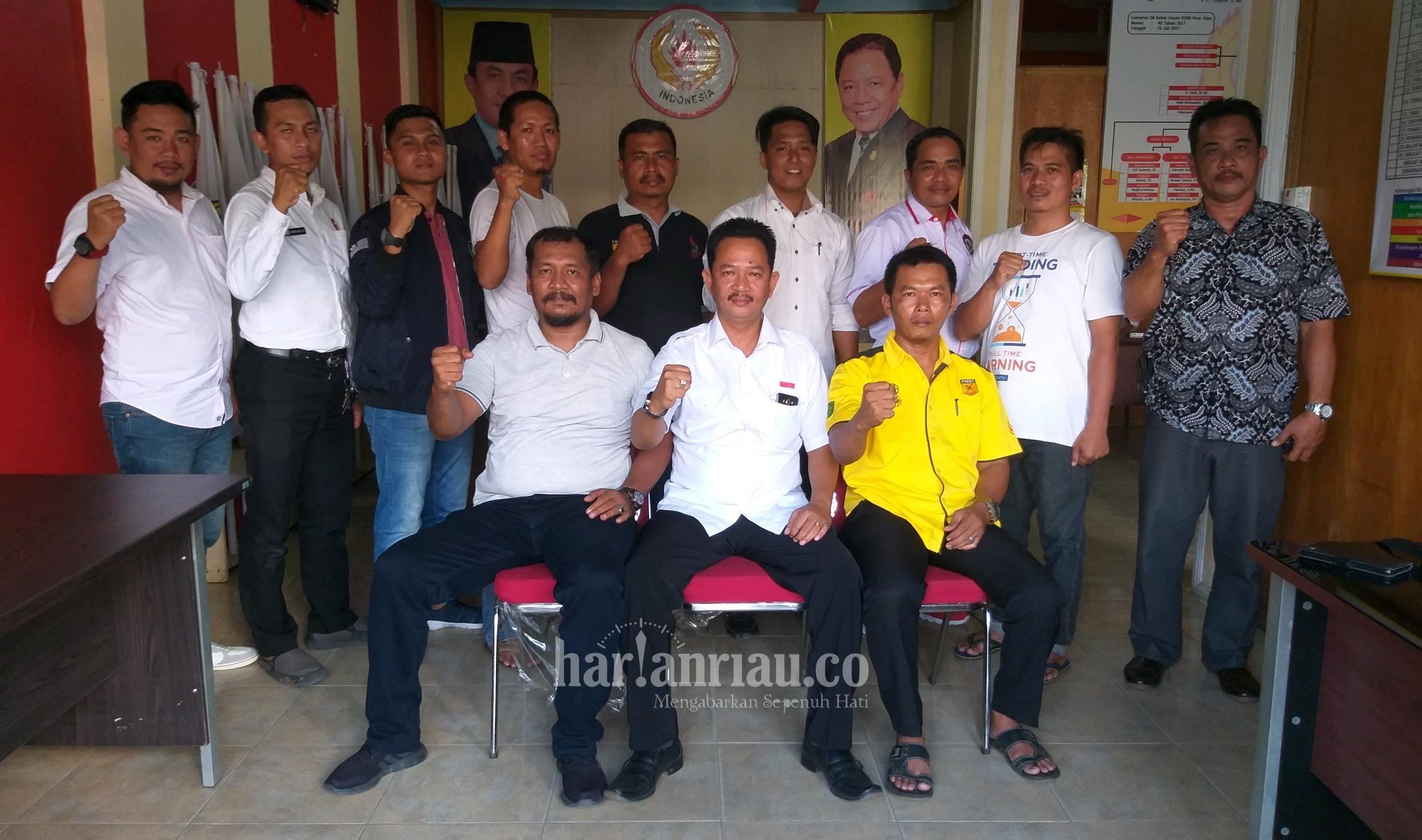 Edy Indra Kesuma Terpilih Secara Aklamasi Ketua Umum Forki Inhil