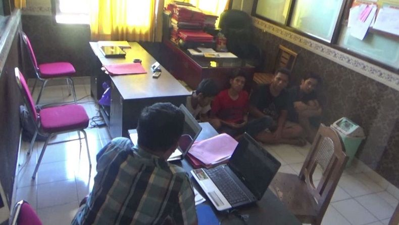 BIADAB... Empat Pemuda ini Perkosa Janda Muda Usai Pesta Miras, ini Pengakuan Korban