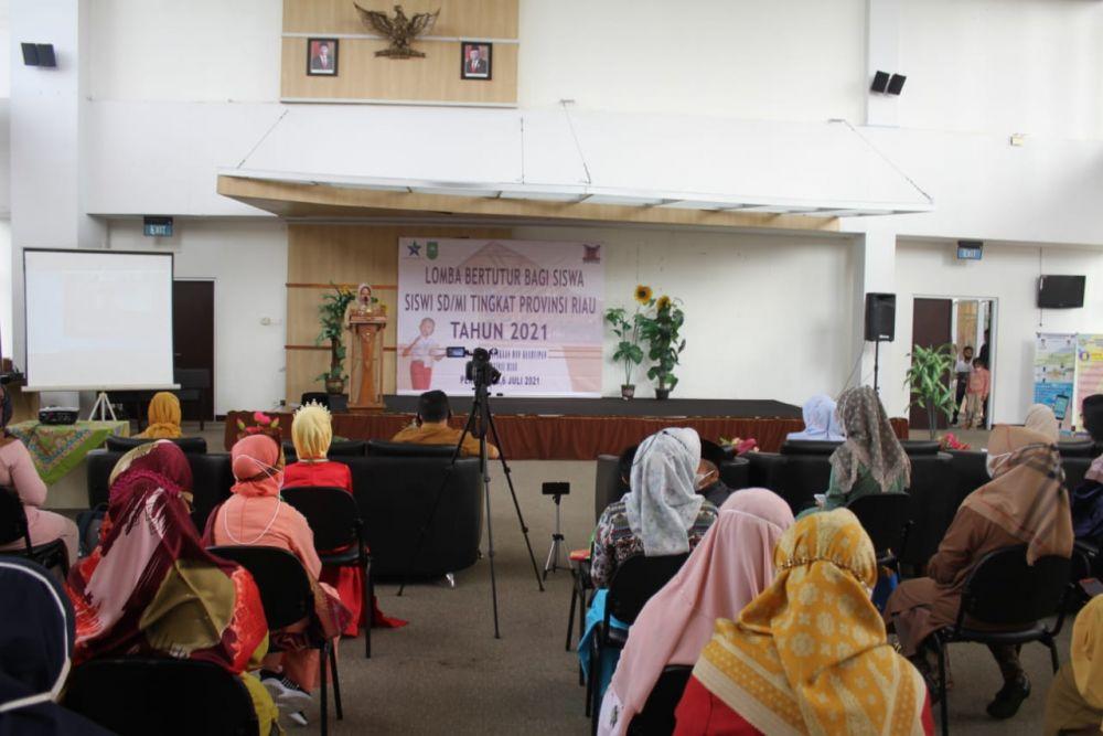 Asa Kemampuan Siswa Bercerita, Dispersip Riau Gelar Lomba Bertutur Bagi Siswa SD se-Riau