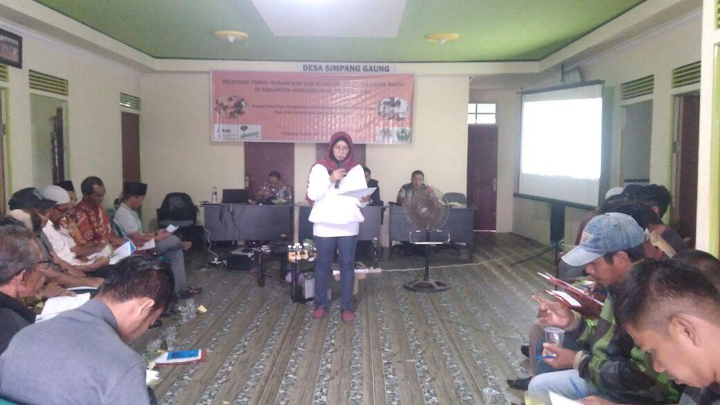 Perangkat Desa Ikuti Sosialisasi Program dan Pelatihan Penyusunan Proposal Perhutanan Sosial