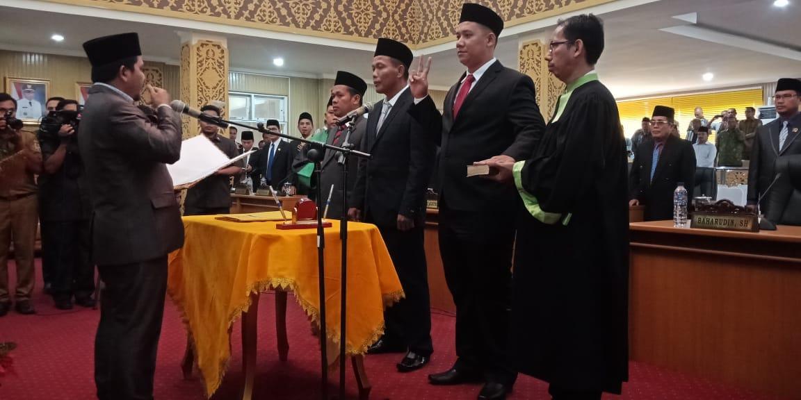 Tiga Anggota DPRD Pelalawan Resmi Dilantik