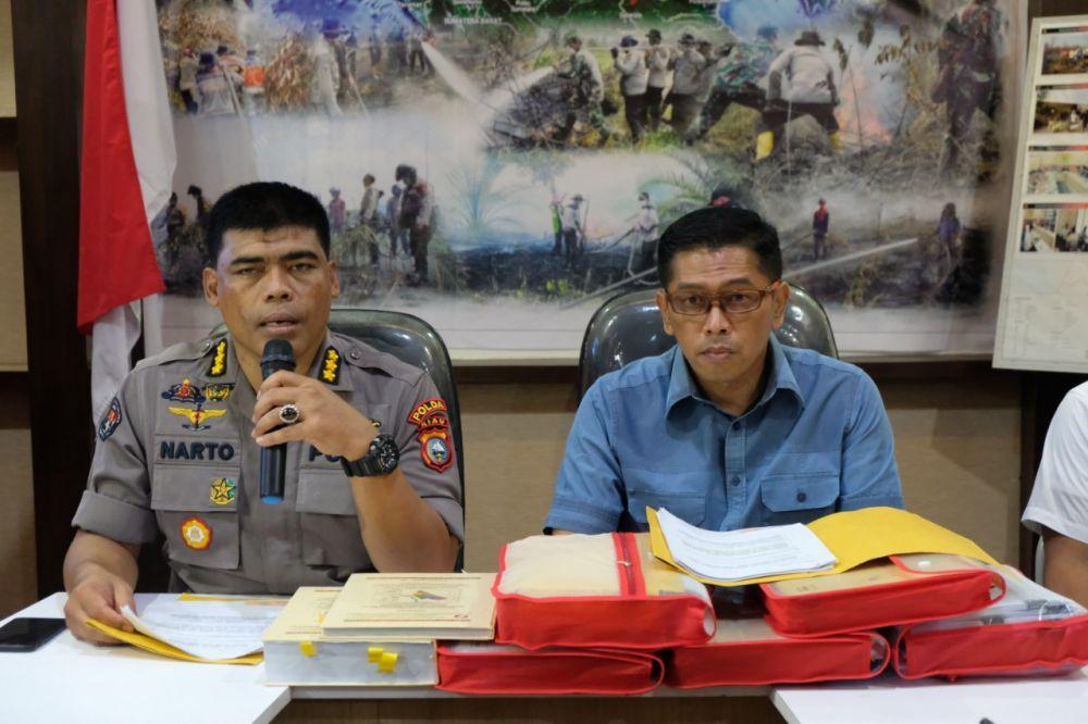 Polda Riau Tetapkan Tersangka dari PT SSS