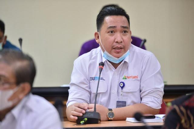 PT Pertani Cabang Riau Dukung Rohil Sebagai Pengembangan Food Estate