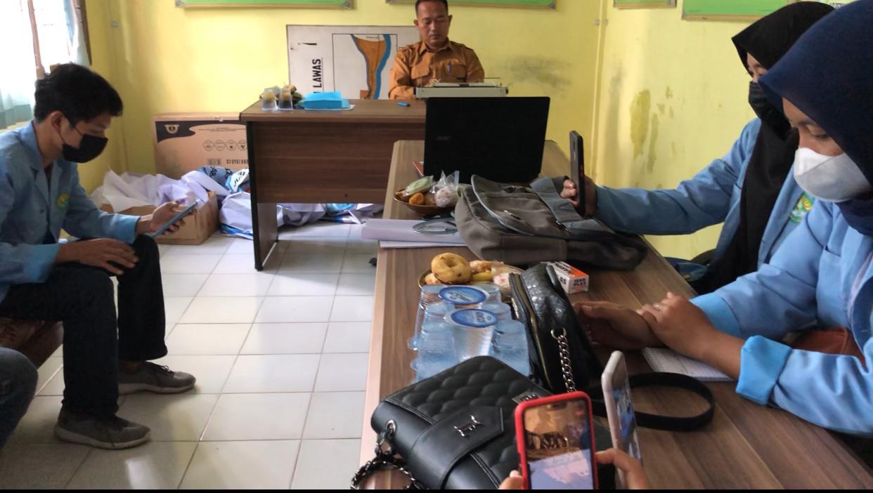 Perlepasan dan Penyambutan Mahasiswa Kukerta Universitas Riau di Desa Pulau Lawas