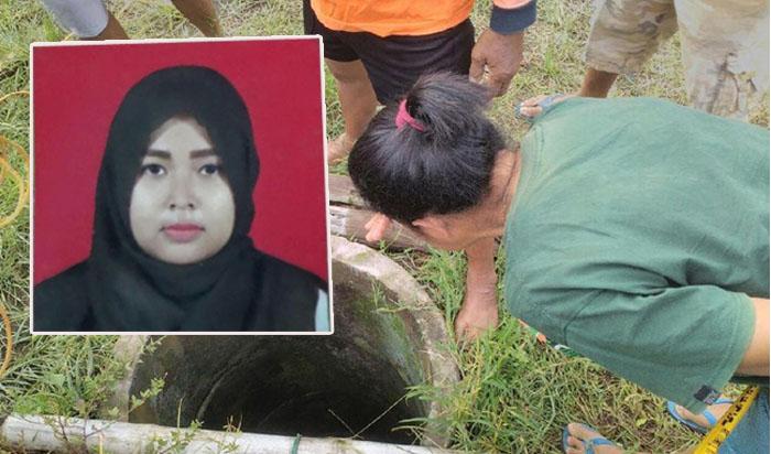 Mahasiswi Ini Dibunuh, Mayatnya Dibuang ke Dalam Sumur