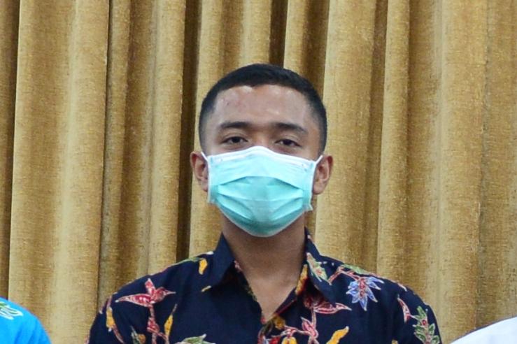 Profil Hervy Shendyka Wiratama Paskibraka Nasional Utusan Provinsi Riau tahun 2021
