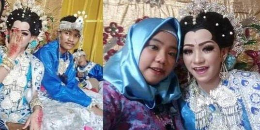 Kisah Haru Pemuda Bugis Memeluk Jenazah Istri di Malam Pertama