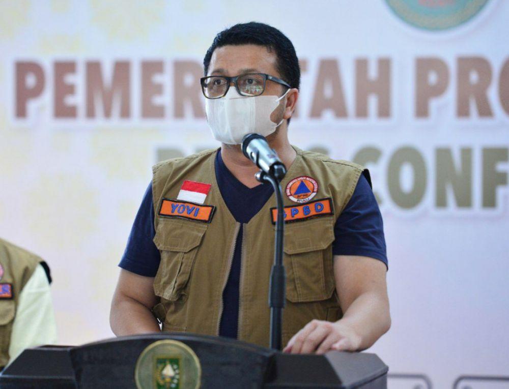 Indra Yovi: Kasus Kematian COVID-19 Tertinggi di Riau Hari Ini Capai 20 Orang
