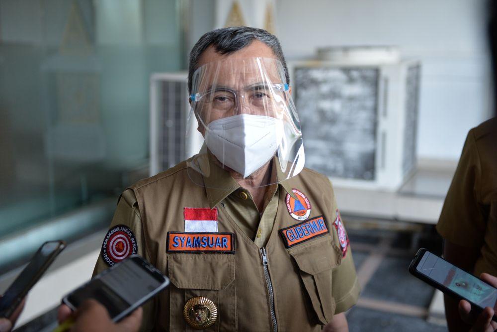Gubri Syamsuar Imbau Kembali Masyarakat Agar Mau Isolasi di Gedung Pemerintah
