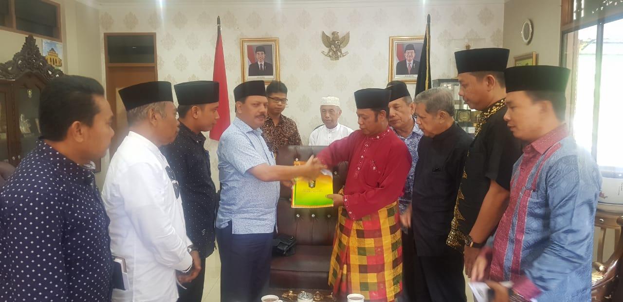 Jelang Musda, Plt LAMR Inhil Lakukan Koordinasi dengan LAM Riau
