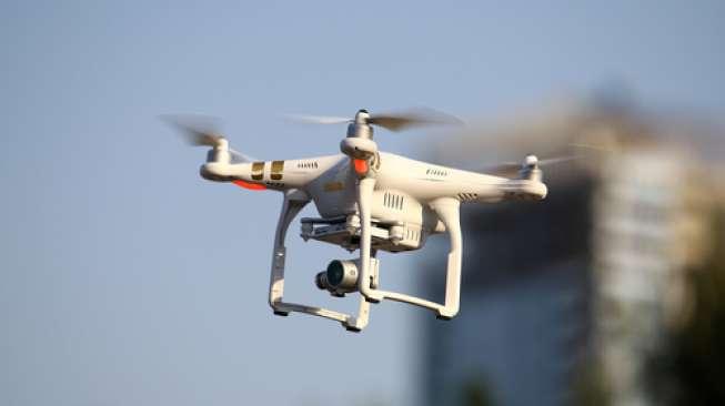 INGAT! Terbangkan Drone di Borobudur Tanpa Bayar Bisa Ditembak