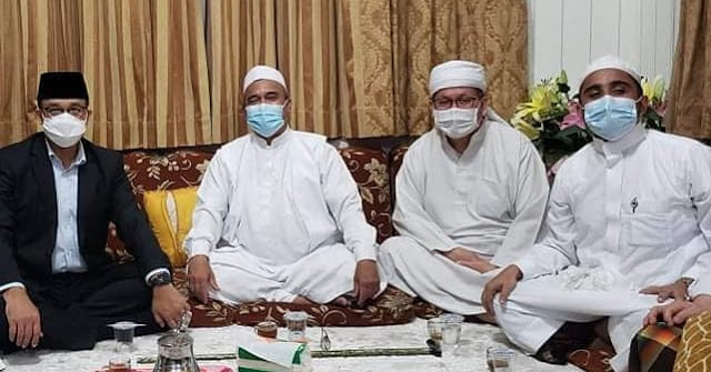 Reaksi Habib Rizieq saat Tahu Ustaz Tengku Zulkarnain Meninggal Dunia