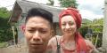 Bule Cantik Istri WNI, Tinggal di Gubuk Sederhana Tetap Bahagia