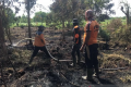 Empat Hektare Lahan Milik Warga Di Inhil Terbakar