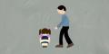 Pakai Kaos Doraemon! Pemuda di Rohul Bikin Anak Usia 6 Tahun 'Teriak-teriak', Akhirnya Digiring ke Kantor Polisi