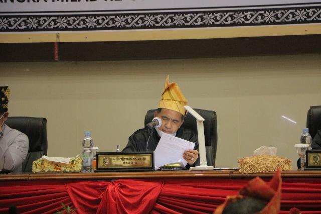 DPRD Gelar Rapat Paripurna Istimewa Milad Inhil ke 56