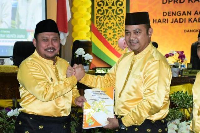 Peringati HUT Ke-70, DPRD Kampar Laksanakan Rapat Paripurna Istimewa